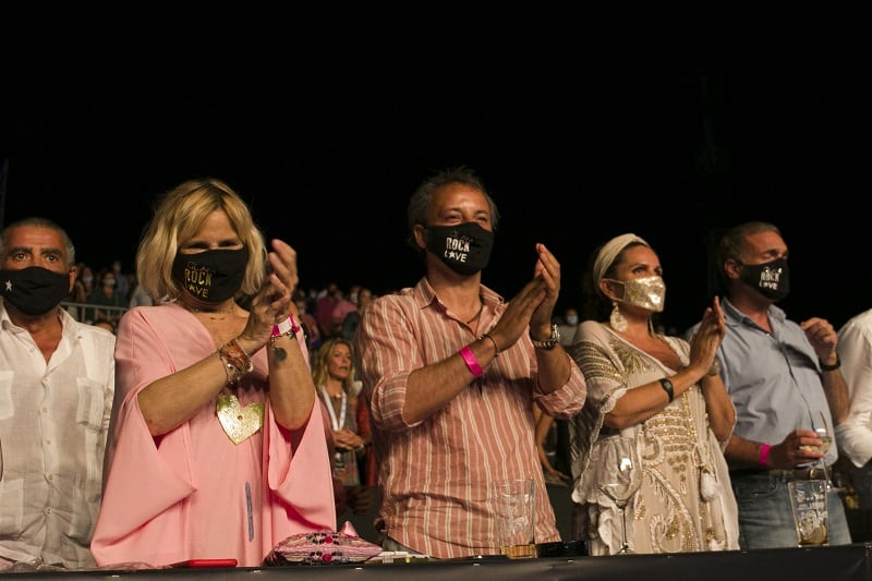 Jaime Martínez-Bordiú, Eugenia Martínez de Irujo, Narcís Rebollo, Sandra García-Sanjuán y Javier Soto Fitz-James
