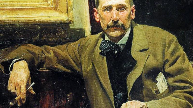 Benito Pérez Galdós: retrato del escritor.