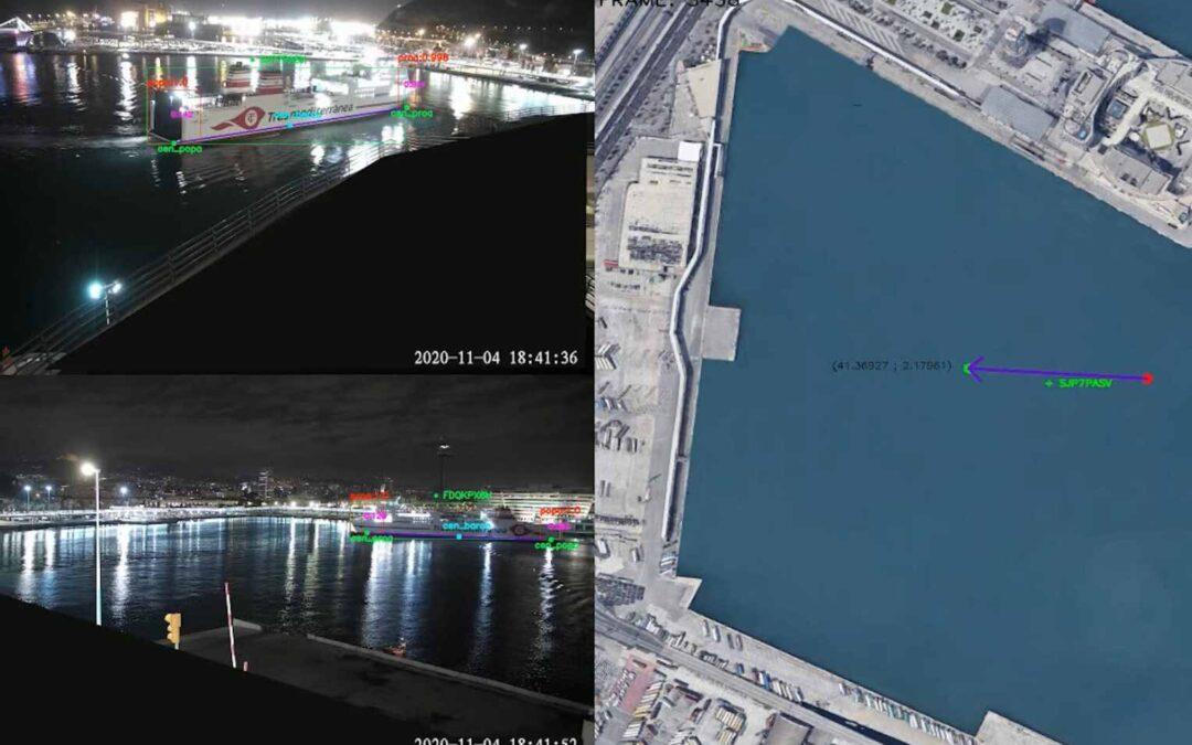 La geolocalización de barcos llega al Puerto de Barcelona con Inteligencia Artificial y 5G