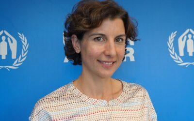 """Sophie Muller, representante de ACNUR: """"Las soluciones a los problemas humanitarios son soluciones políticas"""""""