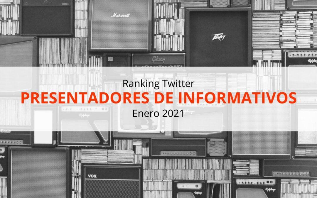 Los presentadores de informativos más influyentes de España en Twitter