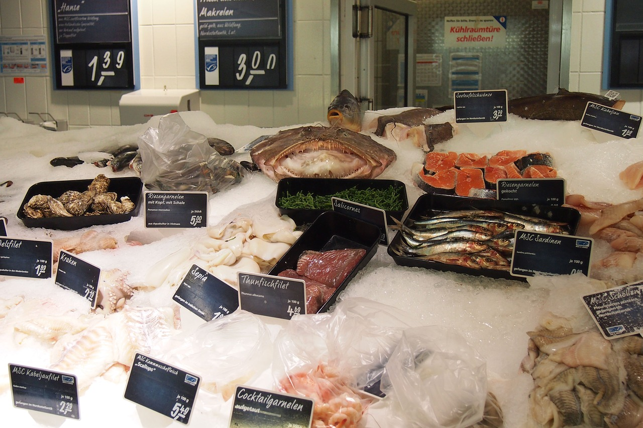 percado transgénico en supermercados