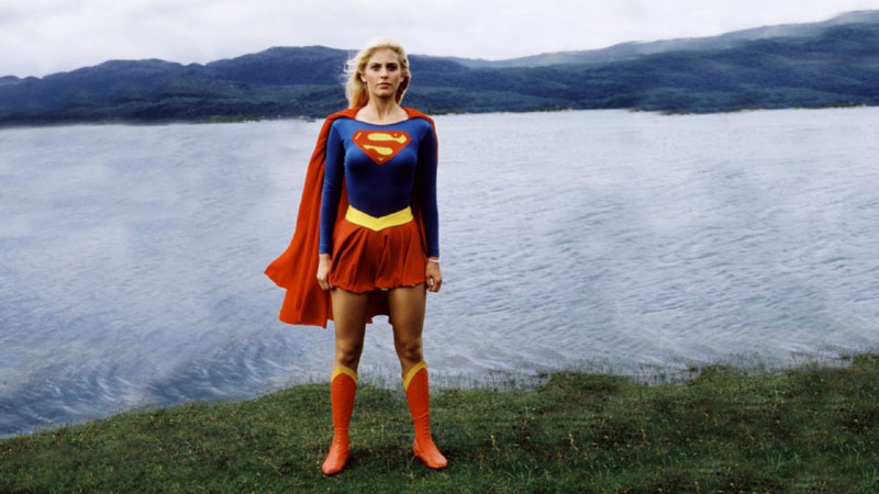 Superheroínas de cine: Supergirl.