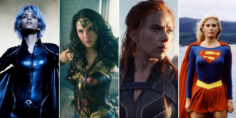 Superheroínas de cine: de Supergirl a Viuda Negra