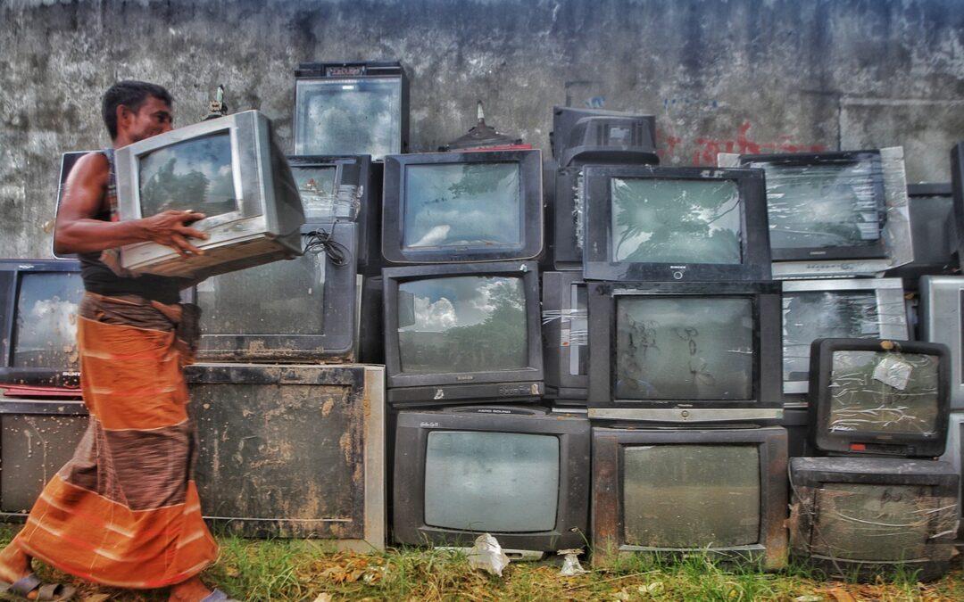 La basura electrónica es una amenaza para el planeta